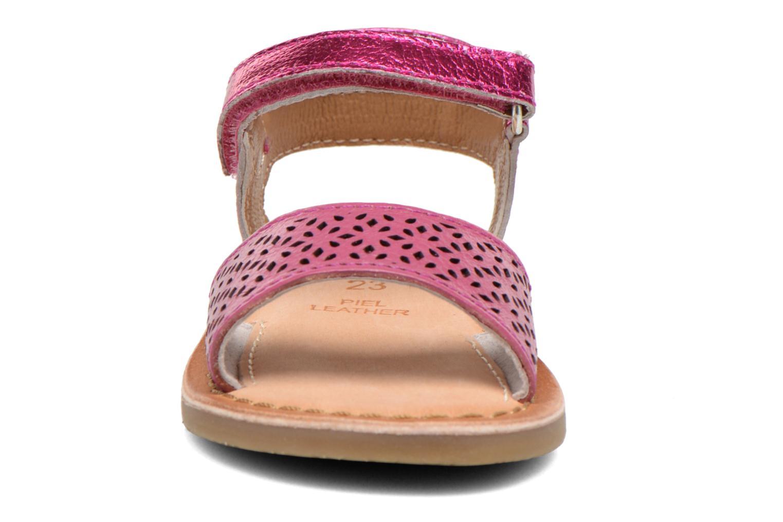 Sandalen Gioseppo Carla rosa schuhe getragen