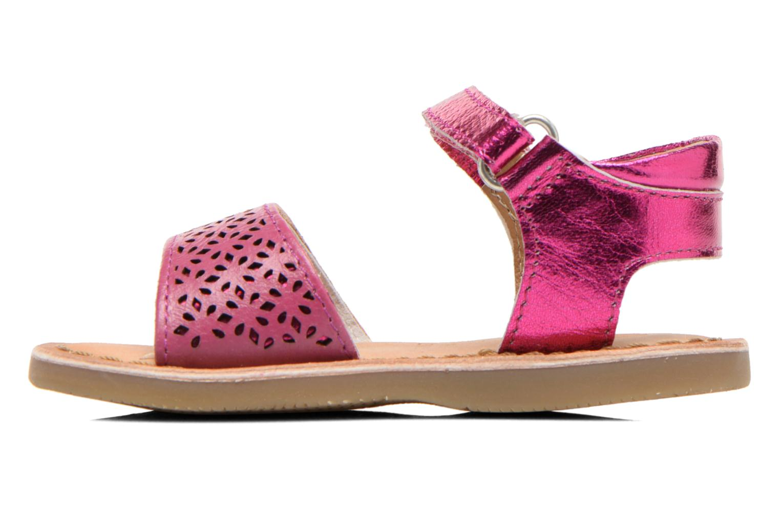 Sandals Gioseppo Carla Pink front view