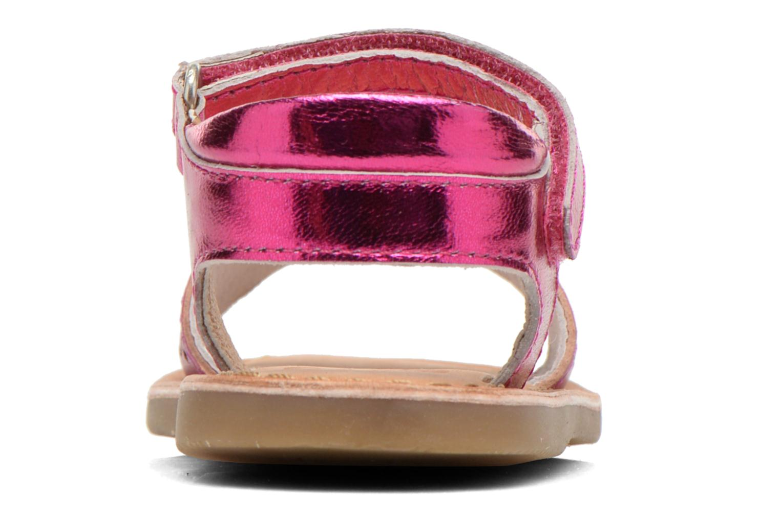 Sandals Gioseppo Carla Pink view from the right