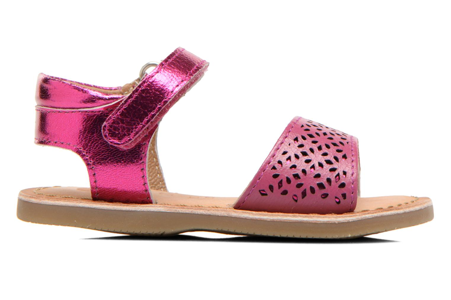 Sandals Gioseppo Carla Pink back view