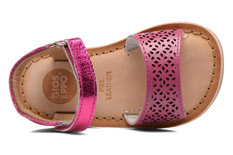 Sandales et nu-pieds Gioseppo Carla Rose vue gauche