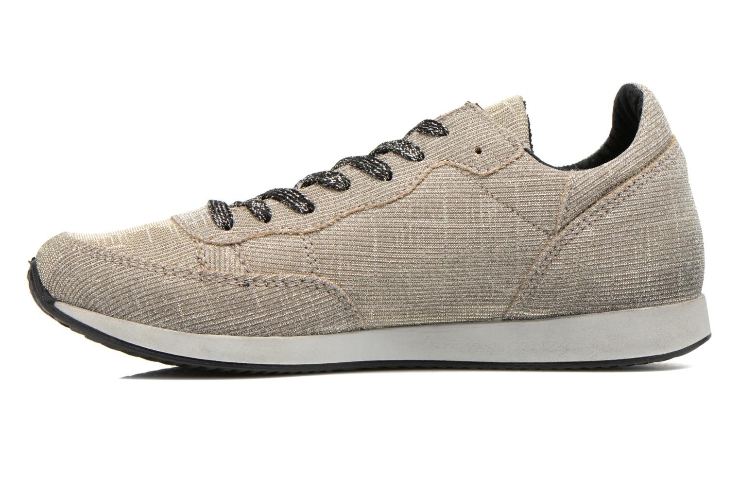 Trainers Ippon Vintage Run silver Grey front view