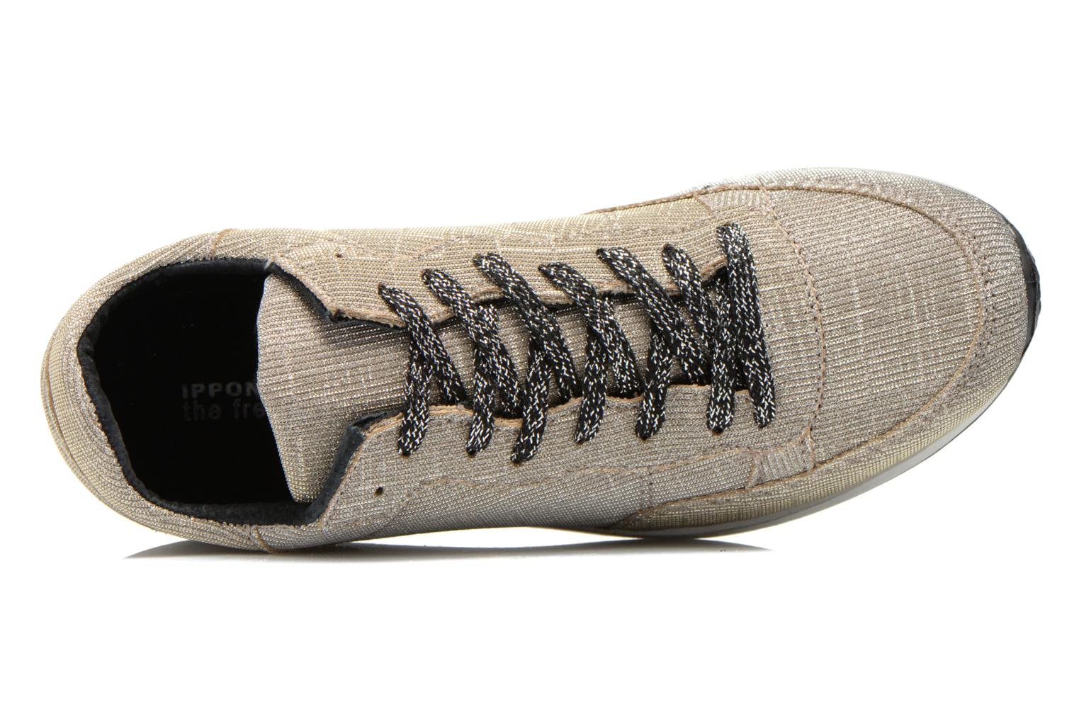 Trainers Ippon Vintage Run silver Grey view from the left