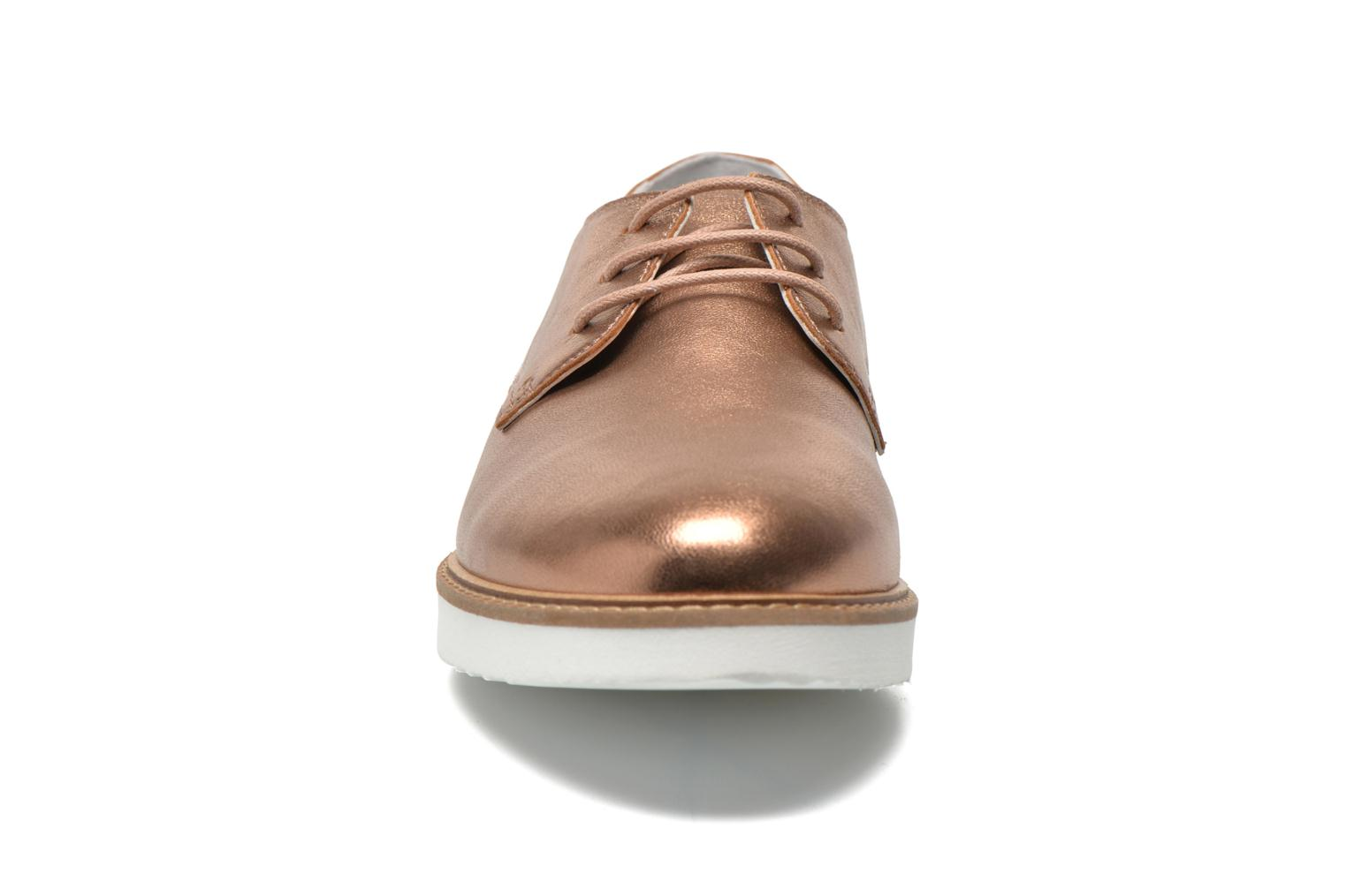 Lace-up shoes Ippon Vintage James metal Bronze and Gold model view