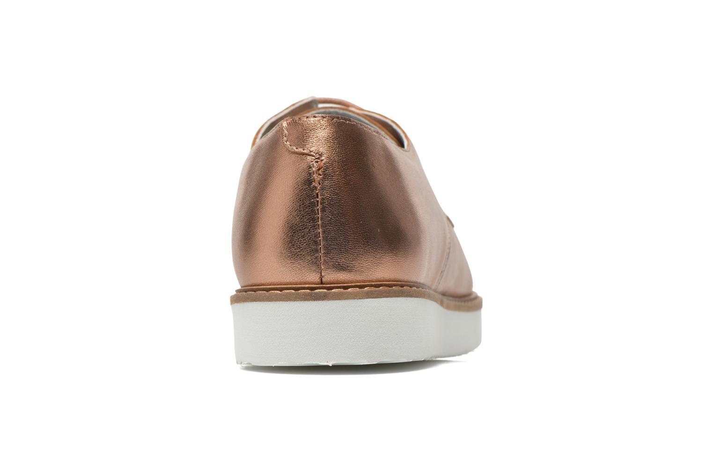 Chaussures à lacets Ippon Vintage James metal Or et bronze vue droite