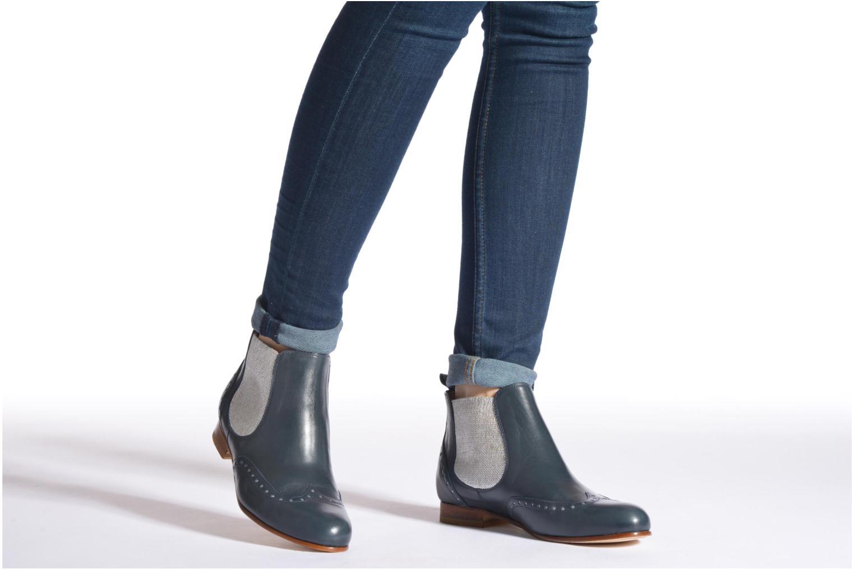 Bottines et boots Georgia Rose Perla Beige vue bas / vue portée sac