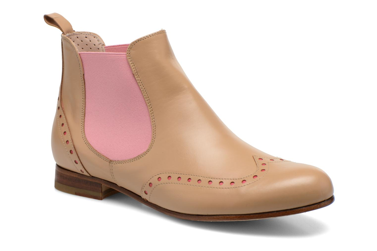 Ankle boots Georgia Rose Perla Beige detailed view/ Pair view