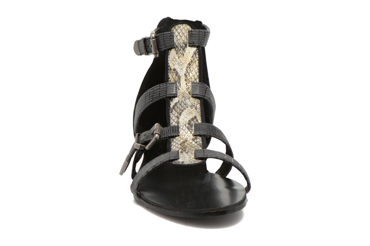 Sandals Kaporal Plitz Black model view