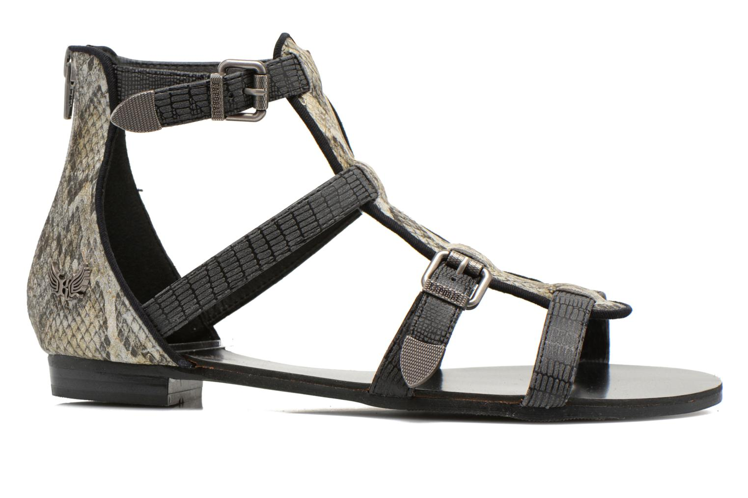 Sandals Kaporal Plitz Black back view