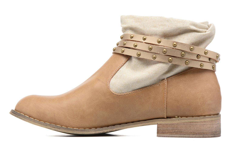 Bottines et boots Kaporal Bilow Beige vue face