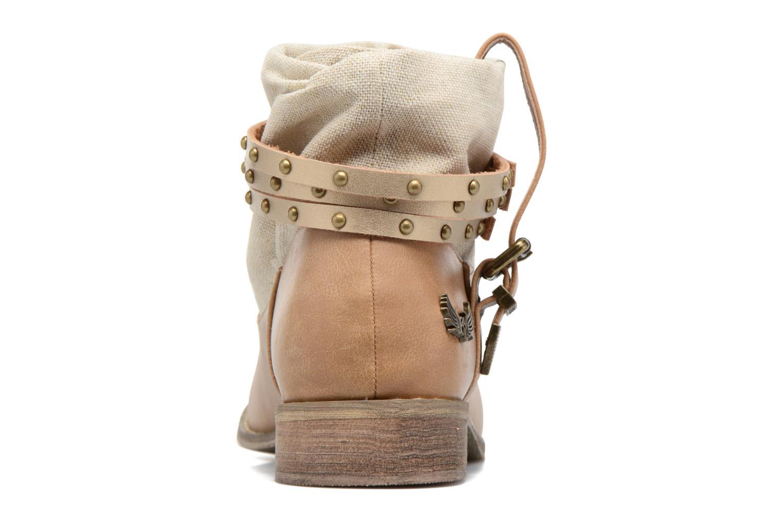 Bottines et boots Kaporal Bilow Beige vue droite