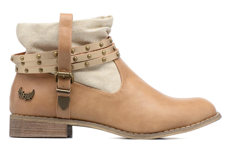 Bottines et boots Kaporal Bilow Beige vue derrière