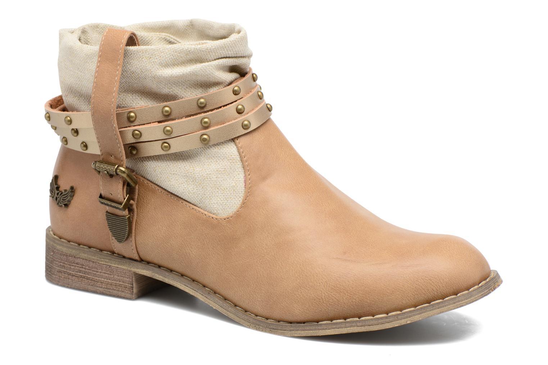 Stiefeletten & Boots Kaporal Bilow beige detaillierte ansicht/modell