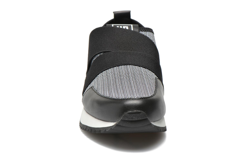Baskets United Nude Yoki Noir vue portées chaussures