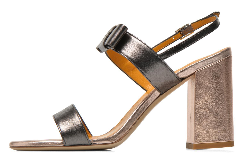 Sandales et nu-pieds Atelier Mercadal Chili Gris vue face