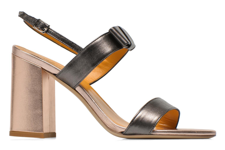 Sandales et nu-pieds Atelier Mercadal Chili Gris vue derrière