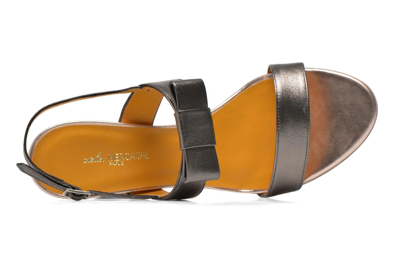 Sandales et nu-pieds Atelier Mercadal Chili Gris vue gauche