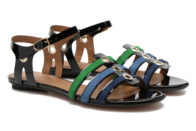 Sandales et nu-pieds Sonia Rykiel Mymy Multicolore vue 3/4