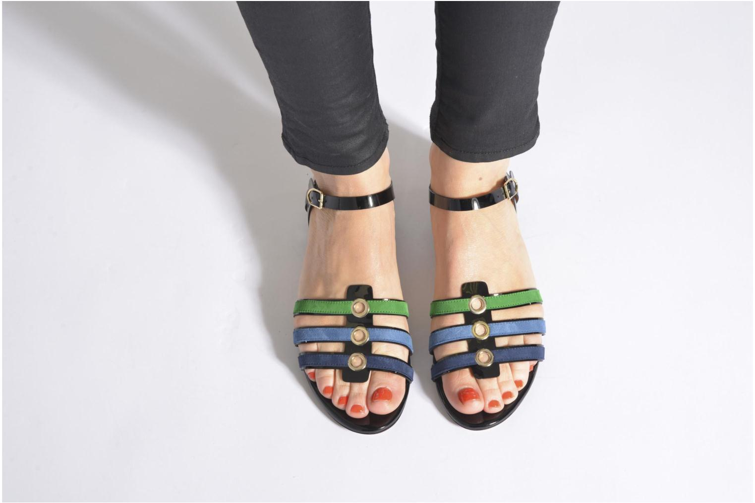 Sandals Sonia Rykiel Mymy Multicolor view from underneath / model view