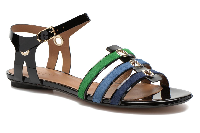 Sandales et nu-pieds Sonia Rykiel Mymy Multicolore vue détail/paire