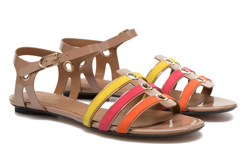 Sandales et nu-pieds Sonia Rykiel Podium Multicolore vue 3/4