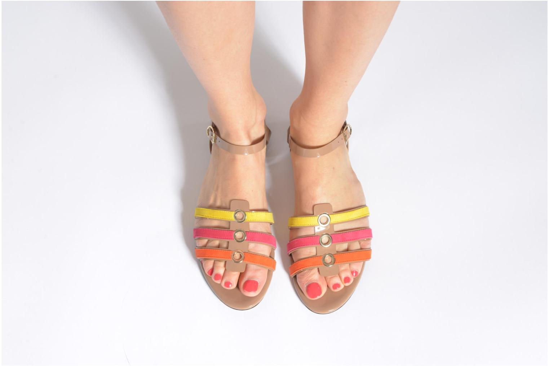 Sandales et nu-pieds Sonia Rykiel Podium Multicolore vue bas / vue portée sac