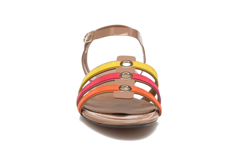 Sandales et nu-pieds Sonia Rykiel Podium Multicolore vue portées chaussures