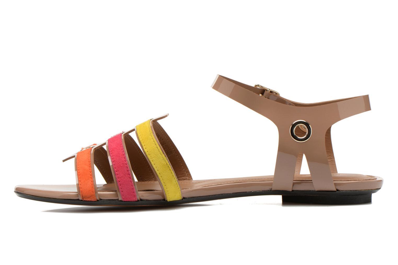 Sandales et nu-pieds Sonia Rykiel Podium Multicolore vue face