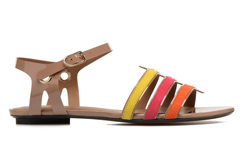 Sandalen Sonia Rykiel Podium mehrfarbig ansicht von hinten