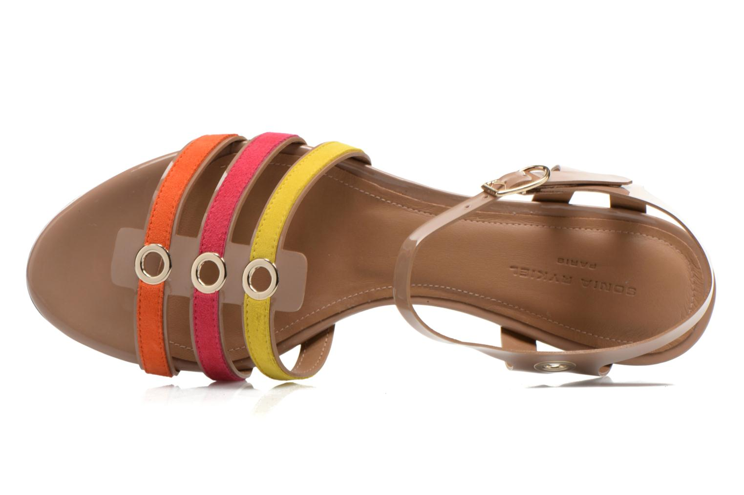 Sandals Sonia Rykiel Podium Multicolor view from the left