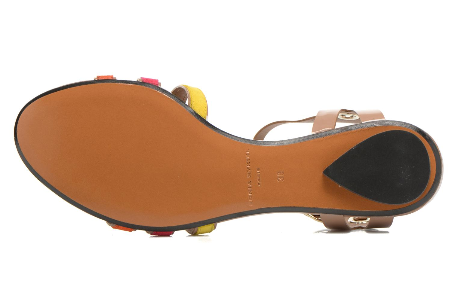 Sandals Sonia Rykiel Podium Multicolor view from above