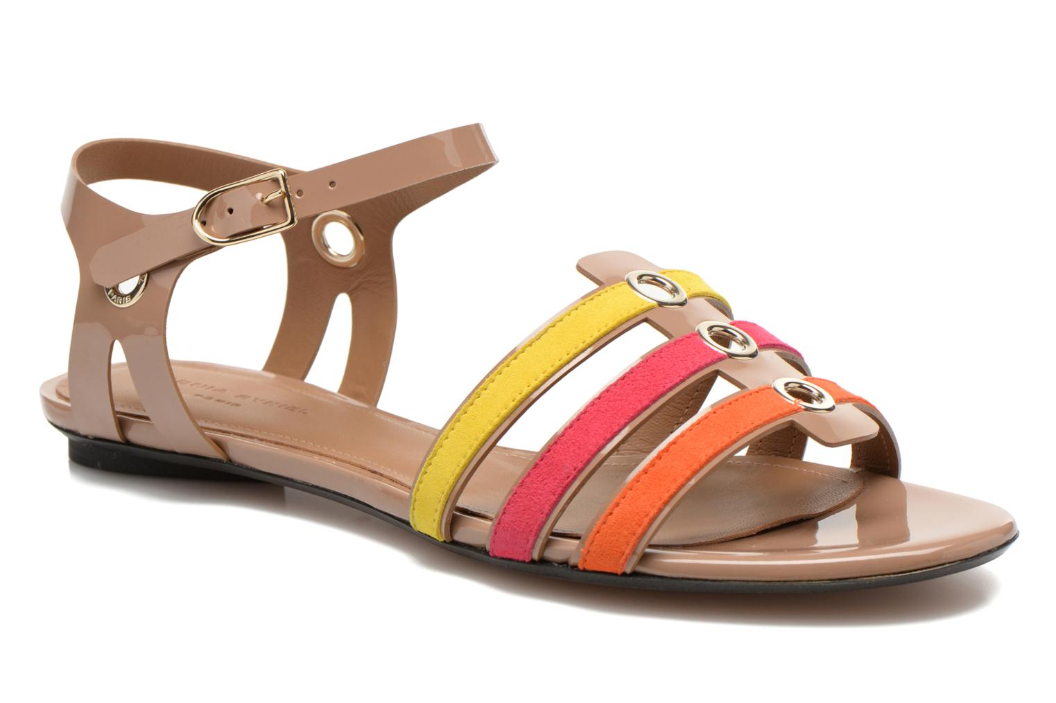 Sandals Sonia Rykiel Podium Multicolor detailed view/ Pair view