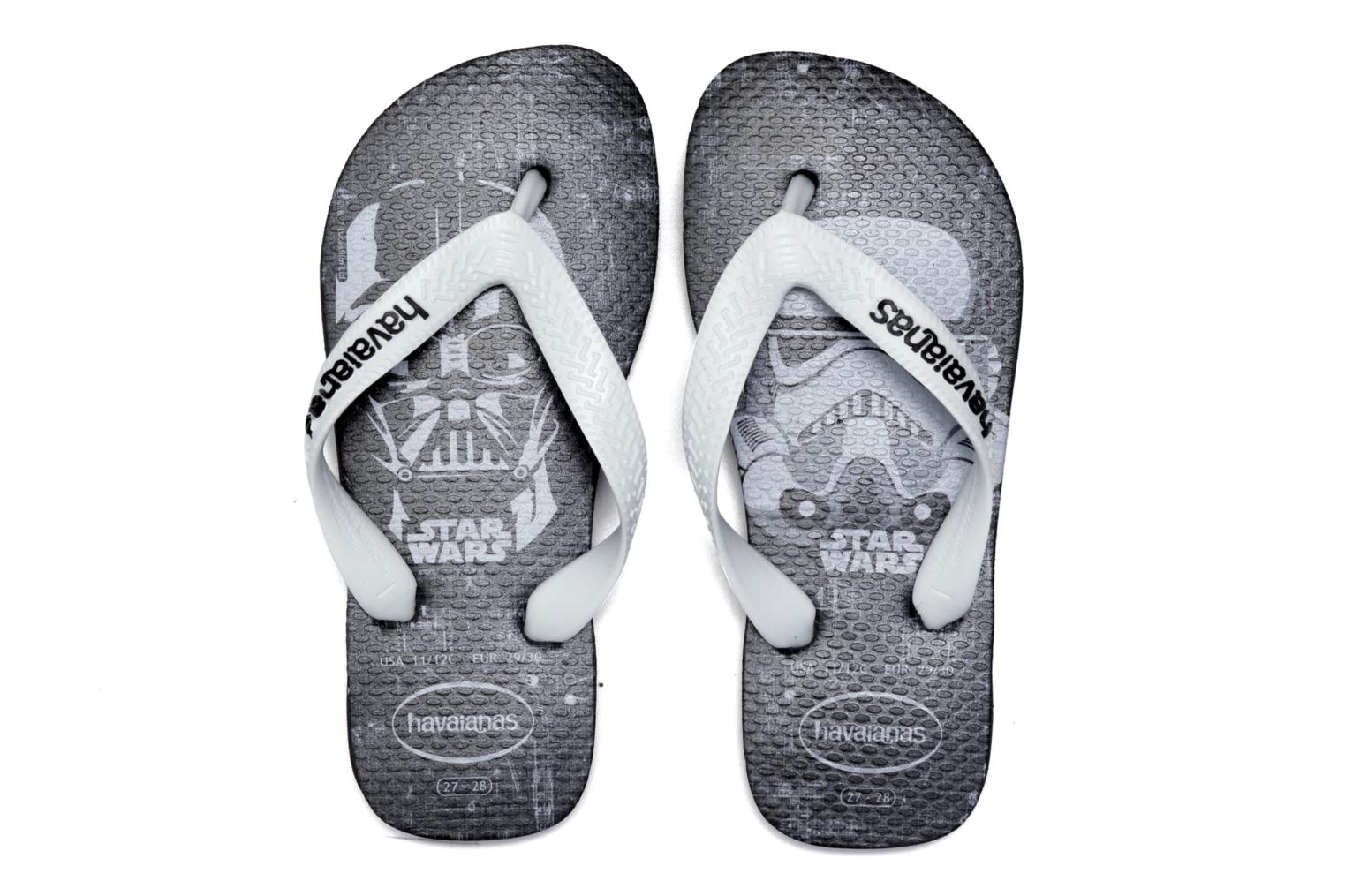 Flip flops Havaianas Kids Star Wars Black 3/4 view