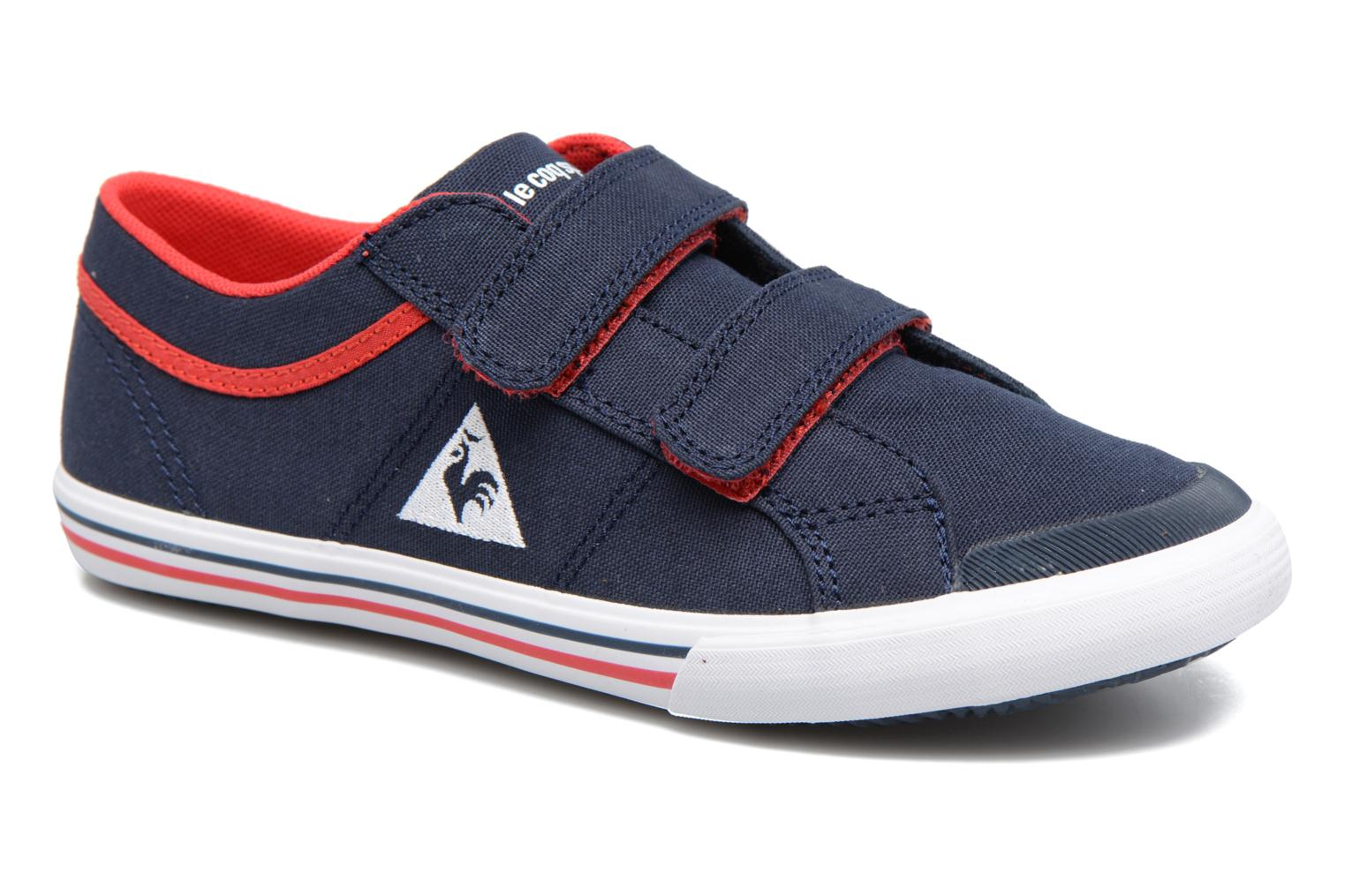 Trainers Le Coq Sportif Saint Gaetan PS Blue detailed view/ Pair view