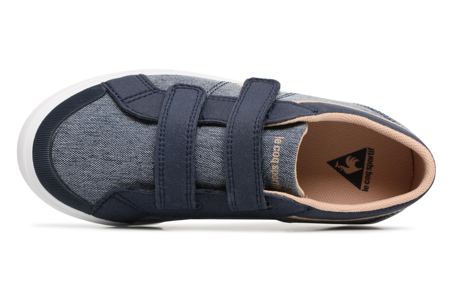 Trainers Le Coq Sportif Saint Gaetan PS Blue view from the left