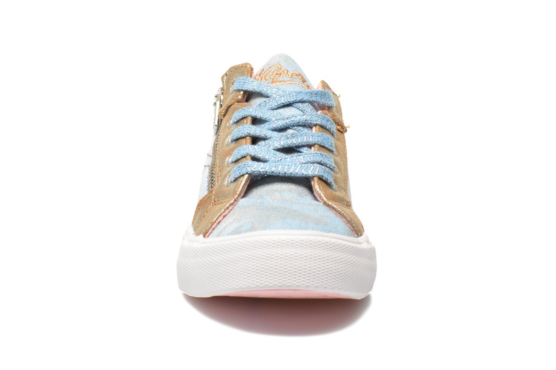 Baskets Kaporal Amon Bleu vue portées chaussures