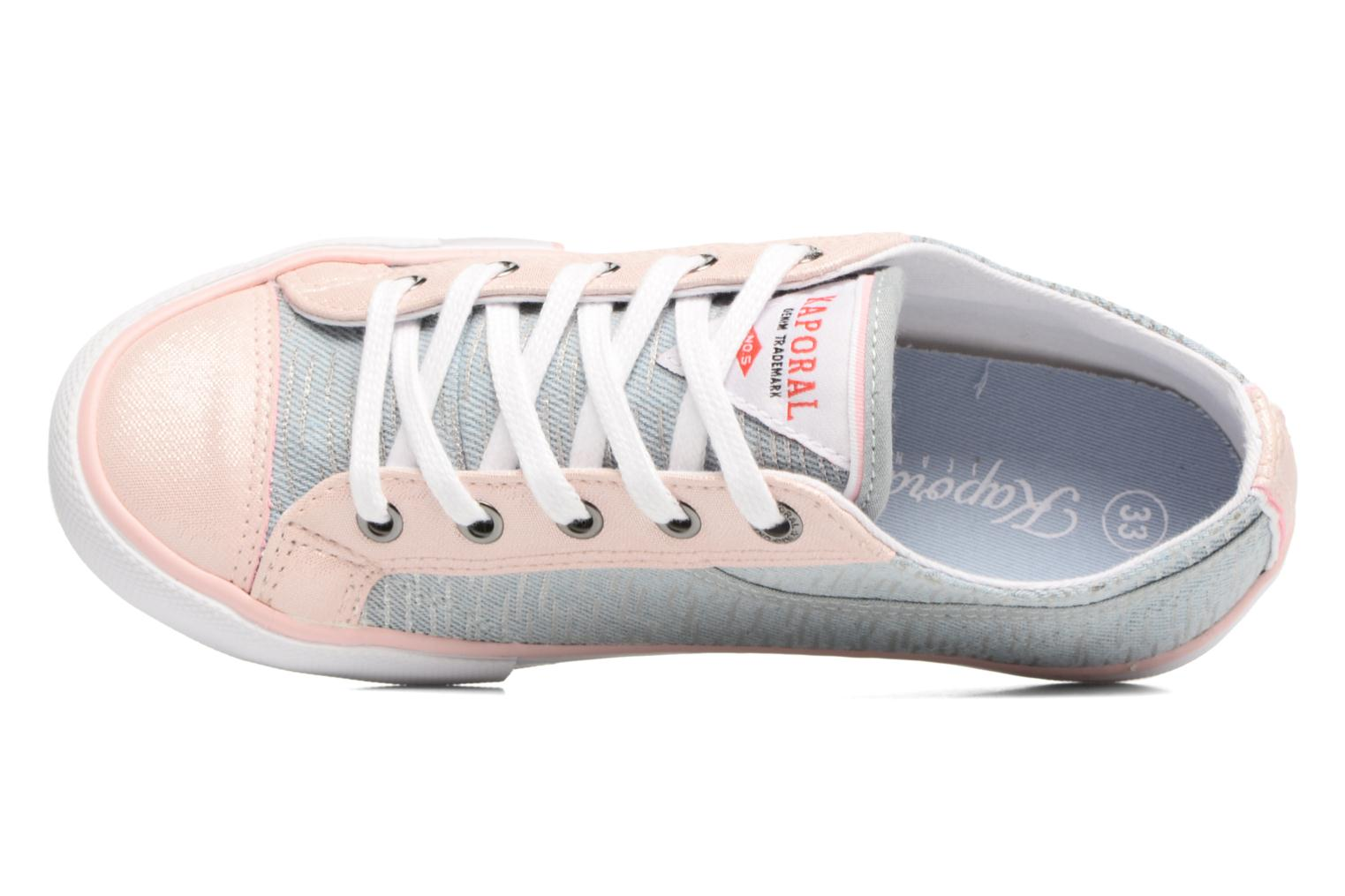 Trainers Kaporal Icario Grey view from the left