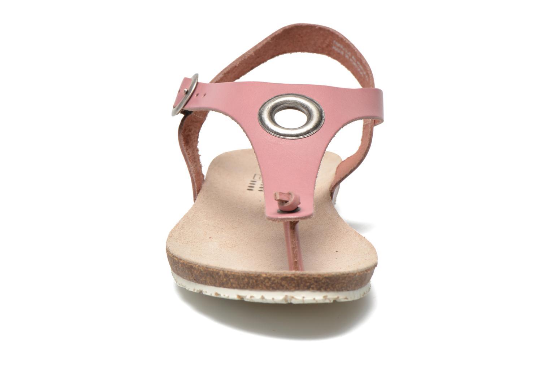 Sandales et nu-pieds TBS Inayah Rose vue portées chaussures