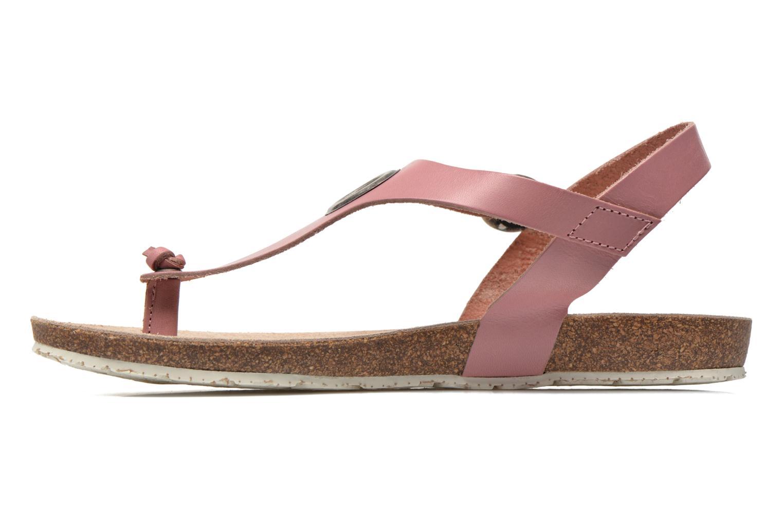 Sandales et nu-pieds TBS Inayah Rose vue face