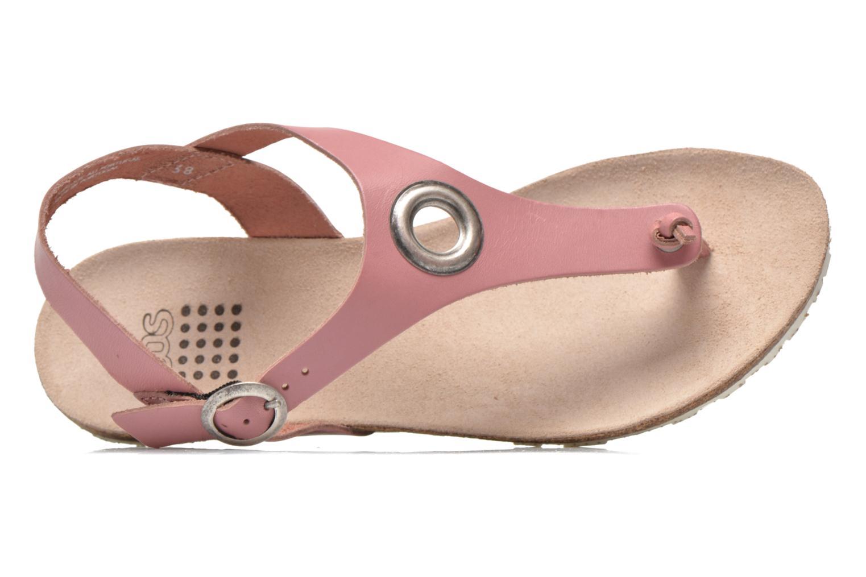 Sandales et nu-pieds TBS Inayah Rose vue gauche