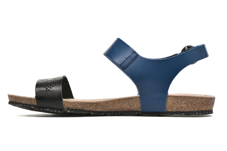 Sandalias TBS Isabel Azul vista de frente