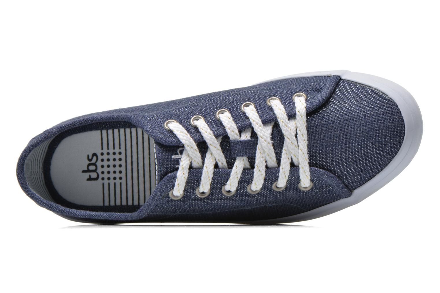 Trainers TBS Lining Blue view from the left