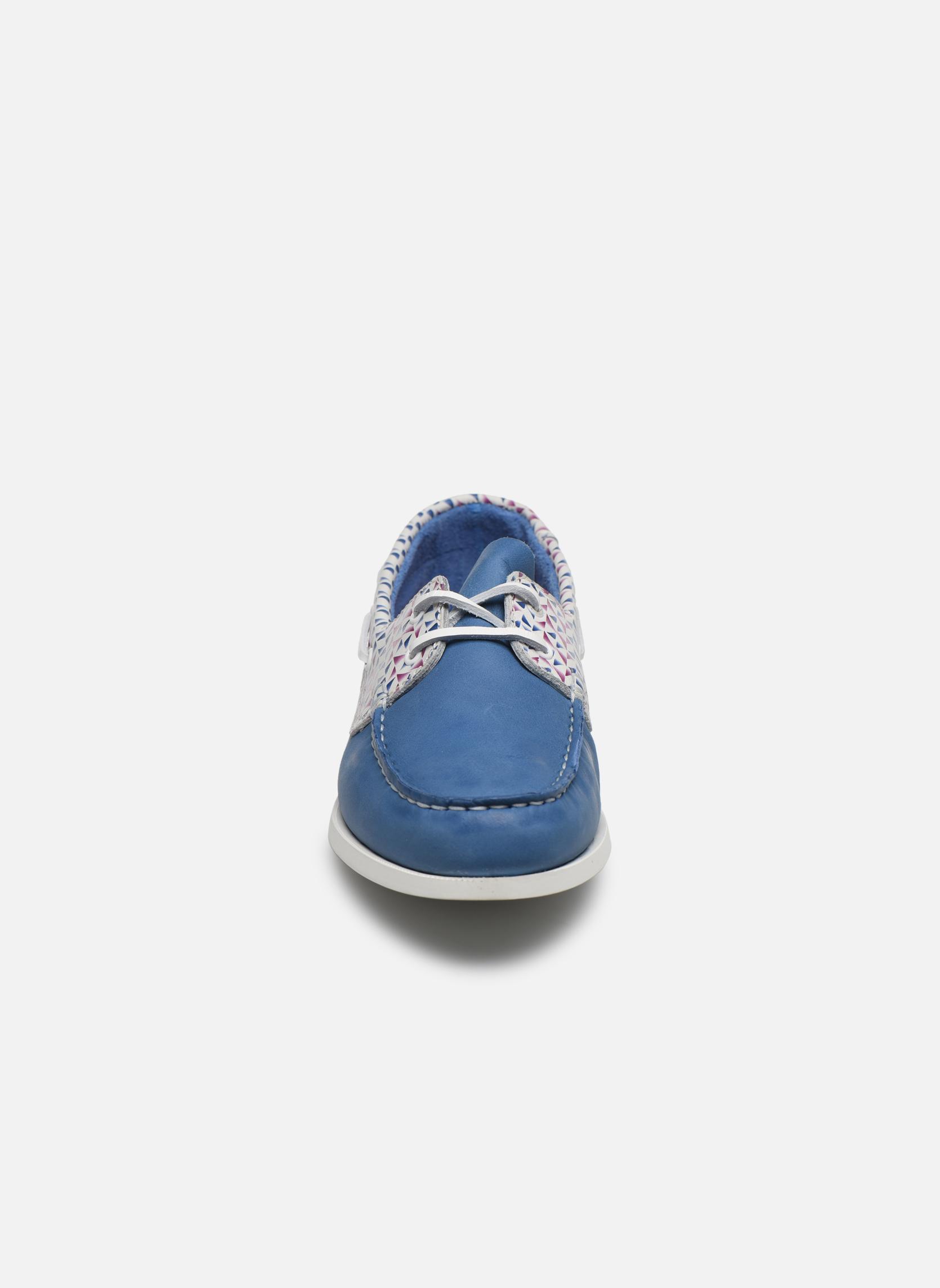 Chaussures à lacets TBS Pietra Bleu vue portées chaussures