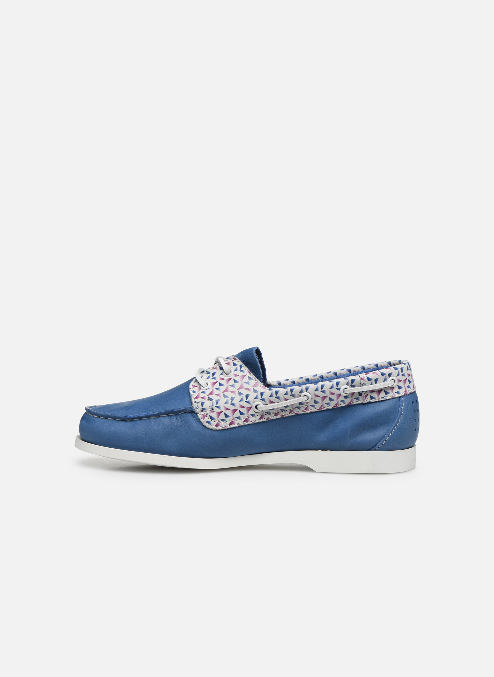 Zapatos con cordones TBS Pietra Azul vista de frente