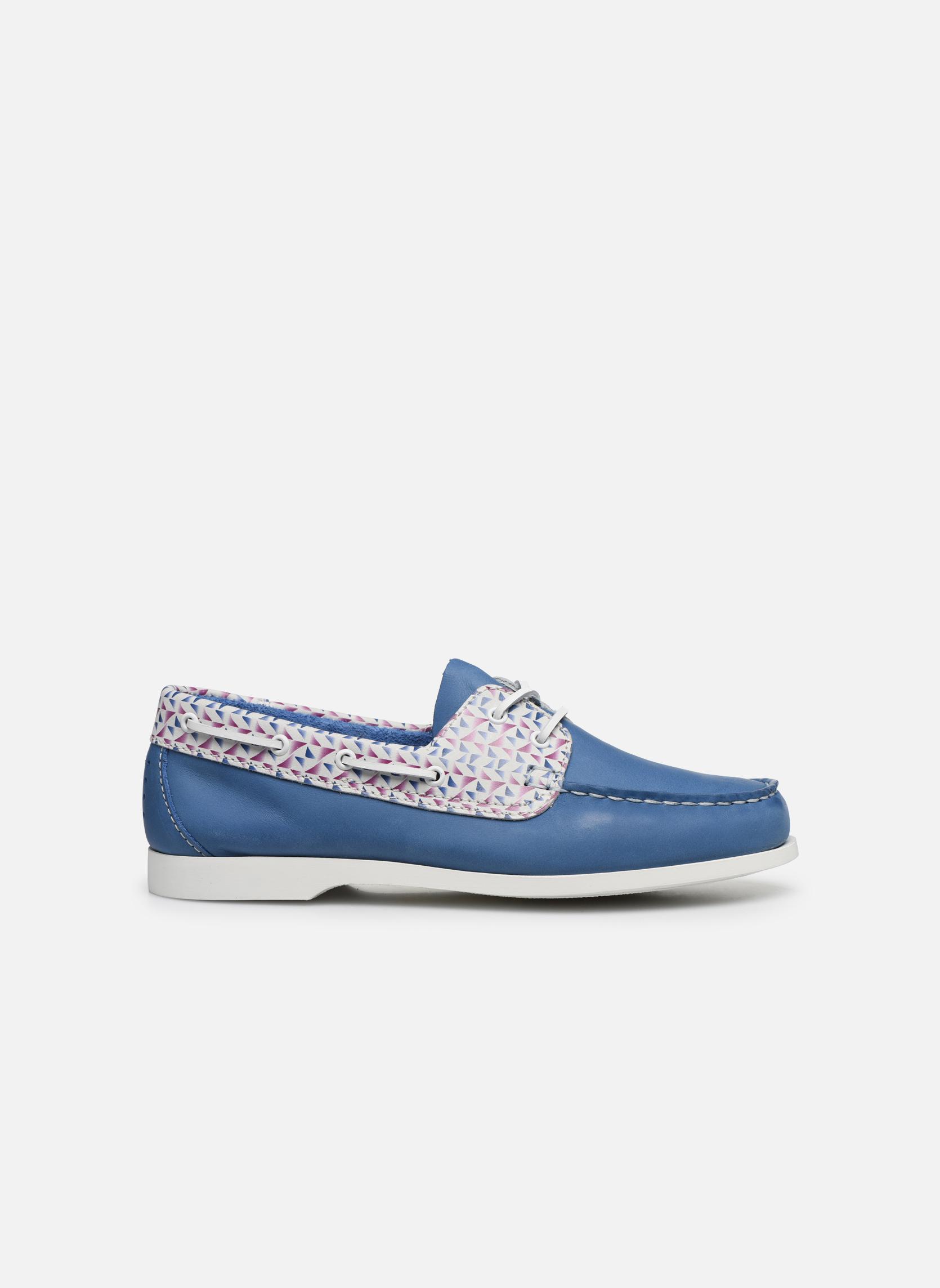 Zapatos con cordones TBS Pietra Azul vistra trasera