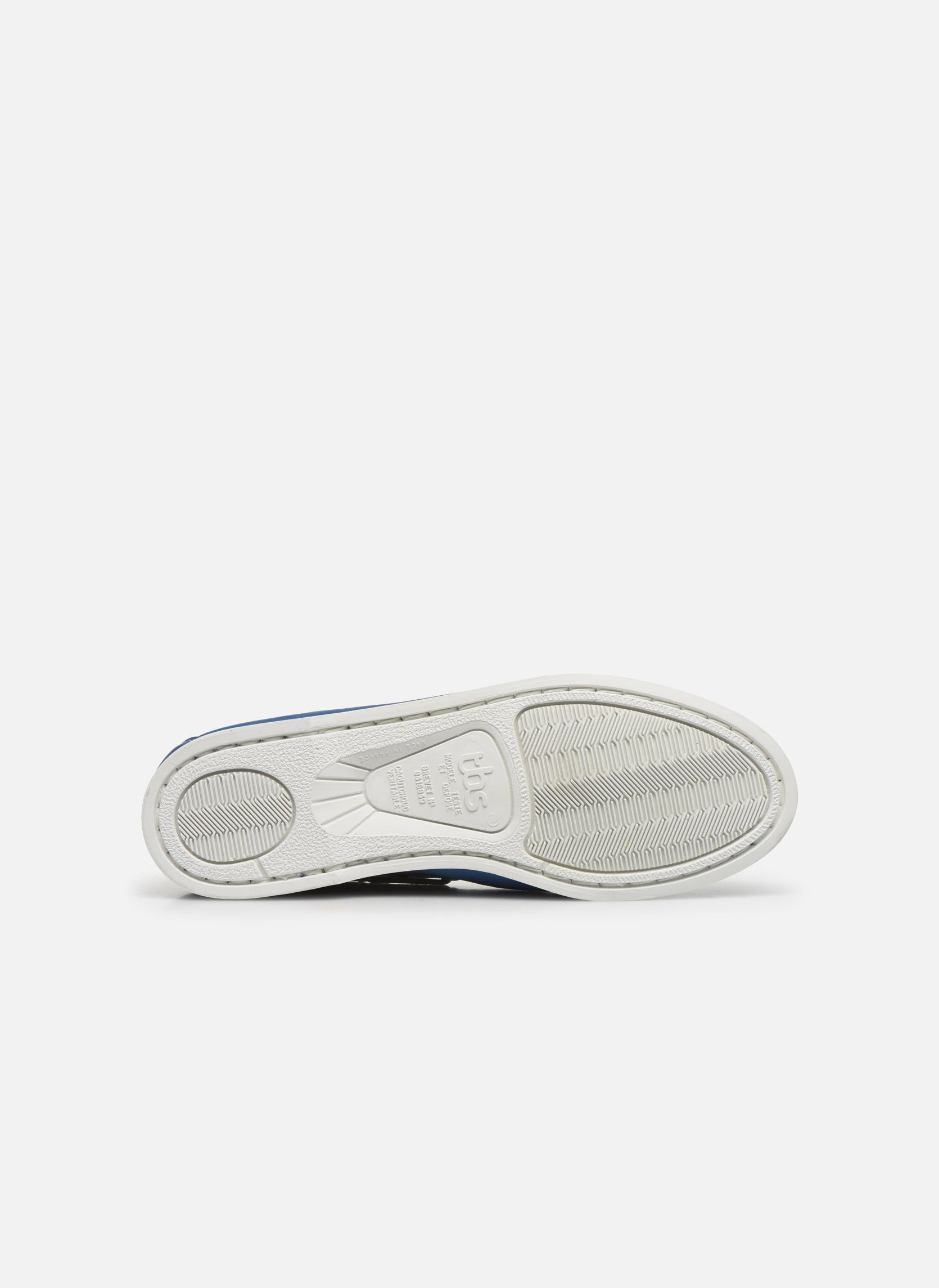 Chaussures à lacets TBS Pietra Bleu vue haut