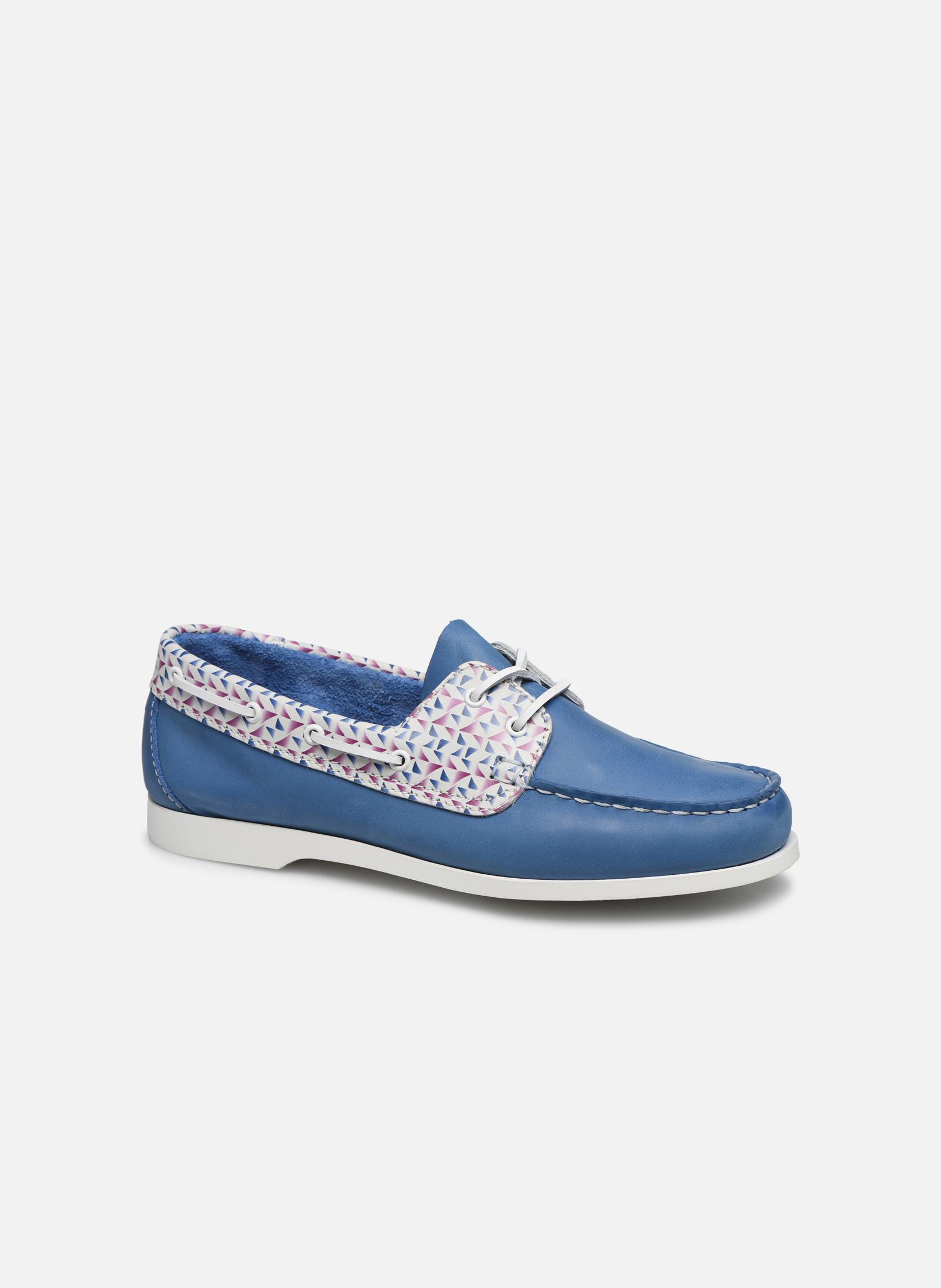 Chaussures à lacets TBS Pietra Bleu vue détail/paire