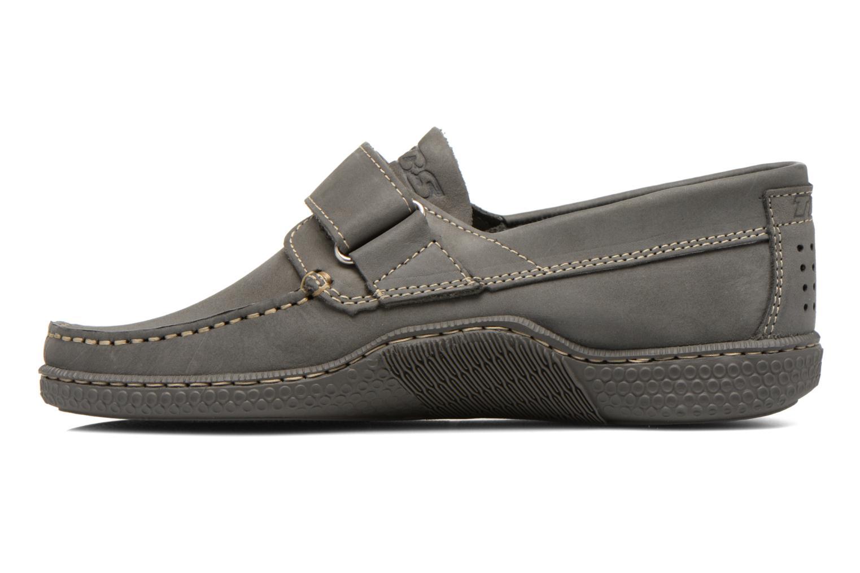 Chaussures à scratch TBS Galais Gris vue face