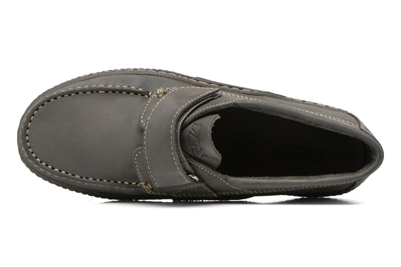 Chaussures à scratch TBS Galais Gris vue gauche
