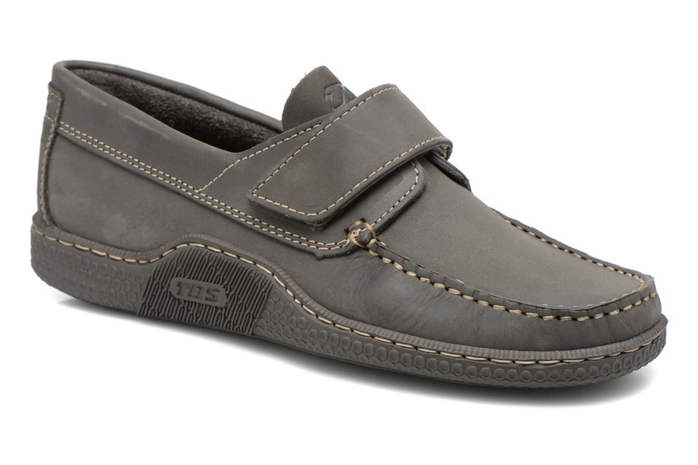 Chaussures à scratch TBS Galais Gris vue détail/paire